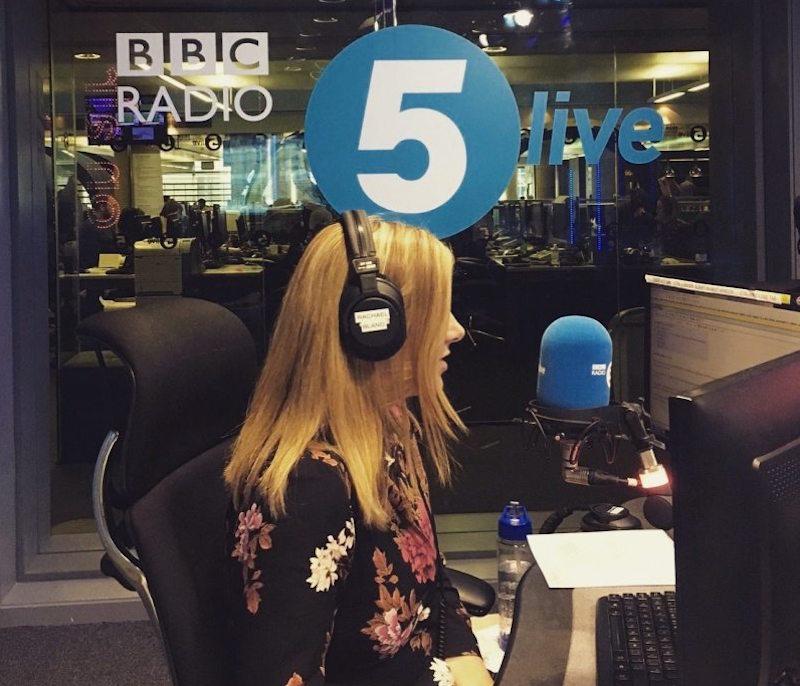 Locutora de la BBC anuncia que le quedan pocos días de vida