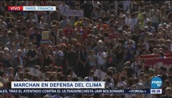 Realizan Marcha Defensa Clima