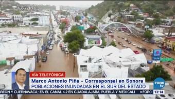 Reanudan clases en escuelas tras lluvias en Sonora