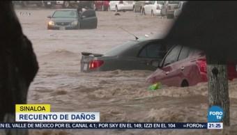 Recuento Daños Tormenta 19-E Sinaloa Afectaciones Inundaciones