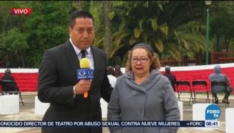 Recuerdan en Tlatelolco a víctimas de sismos de 1985