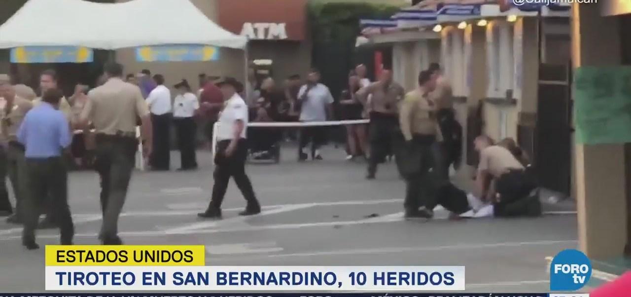 Reportan tiroteo en San Bernardino, California