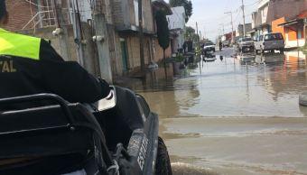 Río Lerma provoca derrumbes luego de desbordamiento; militares aplican Plan DN3