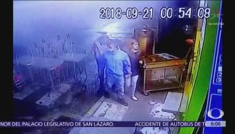 Roban taquería en la colonia San Pedro de los Pinos