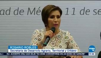 Rosario Robles Niega Relacionada Actos Corrupción