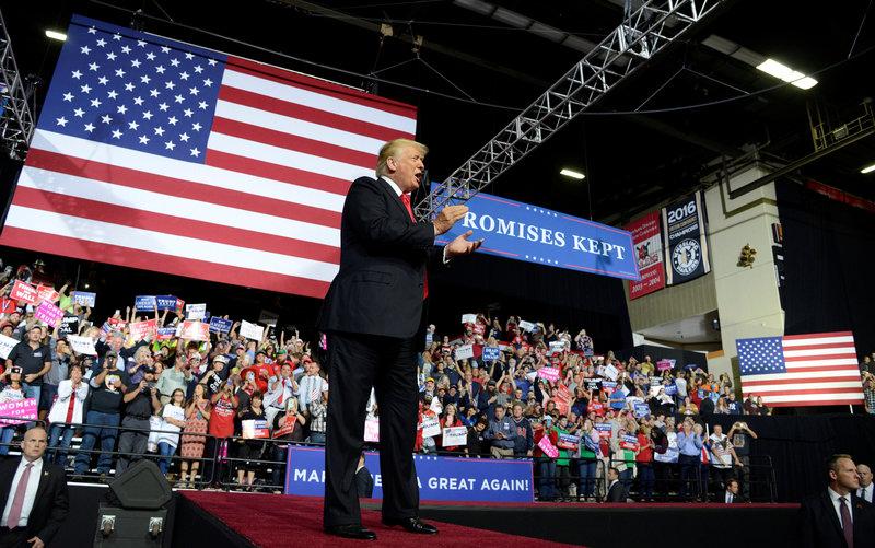 Donald Trump: Los demócratas quieren hacer de nosotros Venezuela