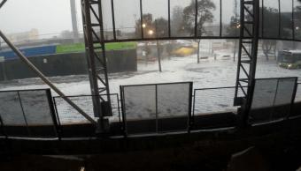 llueve once delegaciones cdmx inundaciones granizo