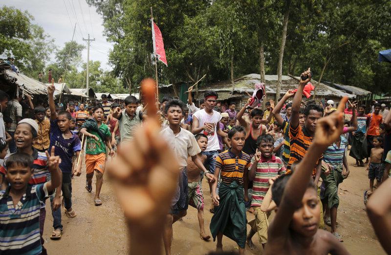 myanmar condena carcel periodistas masacre rohinyas