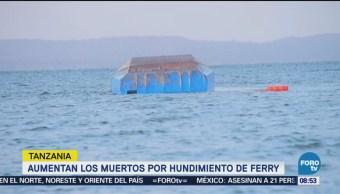 Aumenta Cifra Muertos Hundimiento Ferry Tanzania