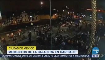 Momentos Balacera Garibaldi