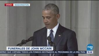 Obama Recuerda John Mccain Como Estadista