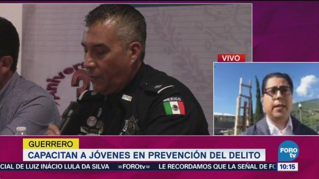 Capacitan A Jóvenes Prevención Del Delito Guerrero Policía