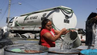 Sacmex anuncia suspensión de abasto de agua en Iztapalapa