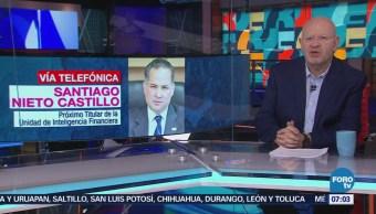 Santiago Nieto: Combate al lavado de dinero se realizará con coordinación institucional