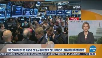 Se cumplen 10 años de la quiebra de Lehman Brothers