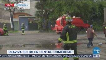 Reaviva Incendio Almacén Centro Comercial Cdmx