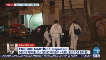 Se registra balacera en calles del Centro de la CDMX