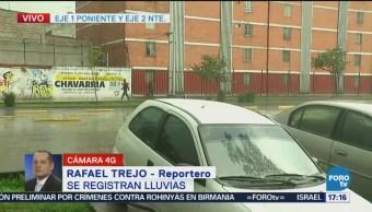 Registra Intensa Lluvia Poniente De La CDMX Fuerte Lluvia Afectaciones Vials Norte Y Poniente Ciudad De México
