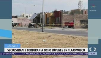 Secuestran y torturan a ocho jóvenes en Tlajomulco