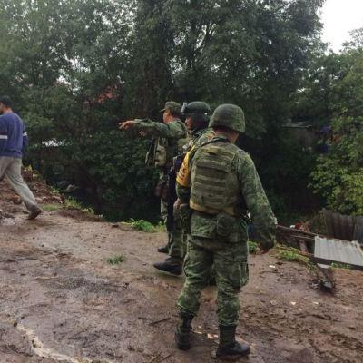 Cinco muertos por lluvias en Peribán, Michoacán; Sedena aplica Plan DN-III-E