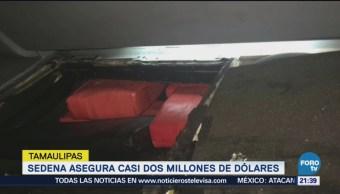 Sedena Decomisa Más Millón Dólares Tamaulipas