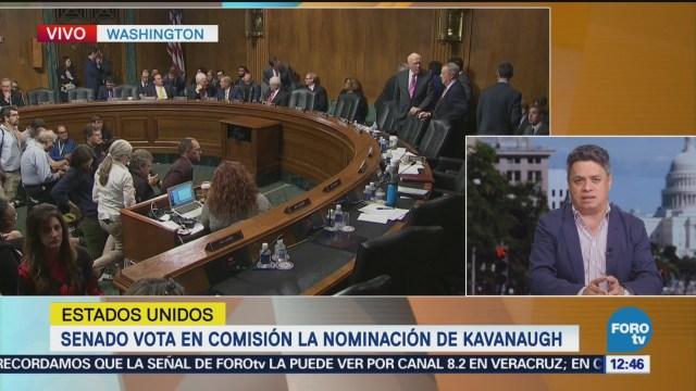 Senado vota la nominación de Kavanaugh al Tribunal Supremo