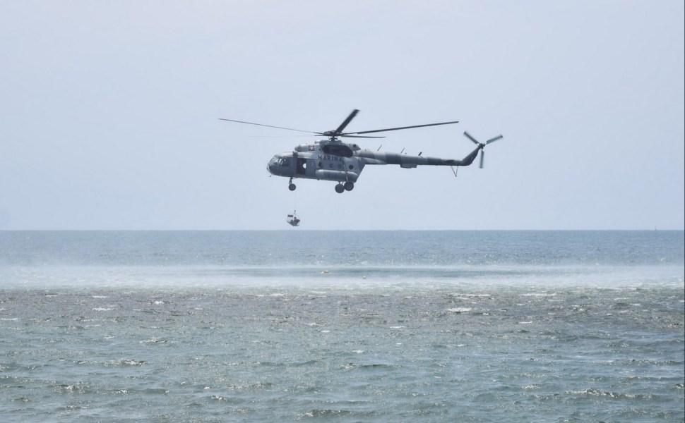 Simulacro de sismo y tsunami en Acapulco, Guerrero