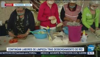 Sociedad Civil Apoya Peribán Michoacán Damnificados
