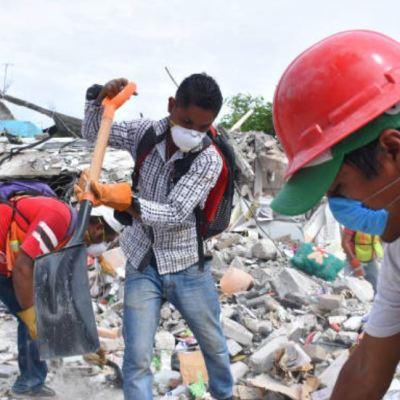 Sociedad civil, protagonista de solidaridad ante la emergencia del sismo