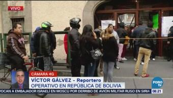 SSPCDMX realiza operativo en República de Bolivia