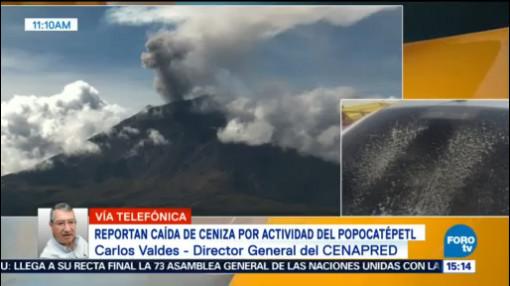 Tapones De Lava Provocan Explosiones Popocatépetl