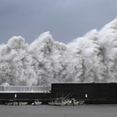 Japón: Tifón Jebi, el más potente en los últimos 25 años, toca tierra
