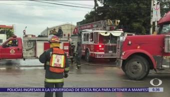 Toma clandestina provoca fuga de gas y desalojo masivo en Puebla