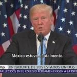 Trump ya no quiere que el tratado norteamericano llame NAFTA
