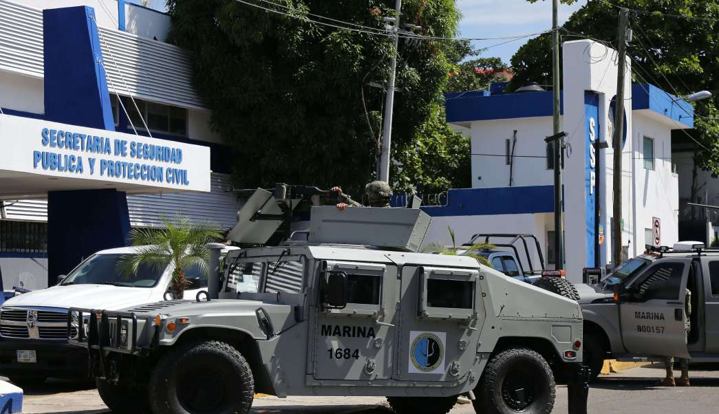 Astudillo: Operativo contra Policía de Acapulco fue por caso de homicidio