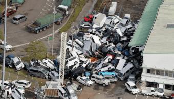 Japón se recupera de devastación del tifón Jebi; 11 muertos