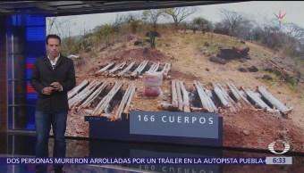 Veracruz tiene más fosas clandestinas que municipios