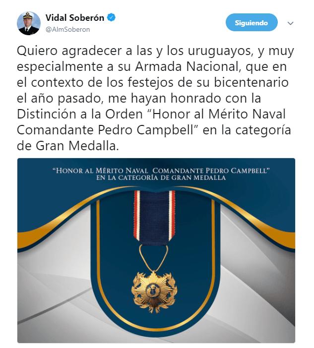 uruguay condecora secreatario marina vidal francisco