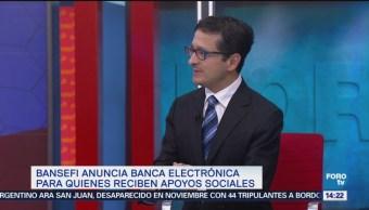 Virgilio Andrade Detalla Banca Electronica Bansefi