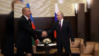 Putin y Alíev apuestan por elevar las relaciones económicas