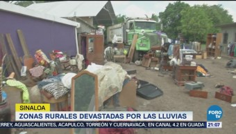 Zonas Rurales Sinaloa Continúan Estado Desastre