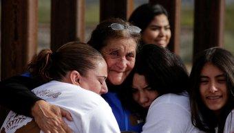 abrazos muros familias frontera estados unidos