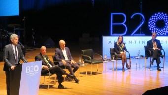 Arranca foro empresarial del G20 en Argentina