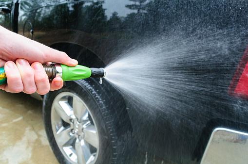 FOTO lavar coche vehiculo