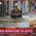 Abren Laguna del Tule, en Jalisco, para desfogar ríos