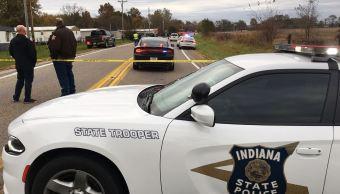 Conductor atropella y mata a tres hermanos en Indiana