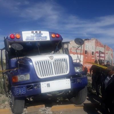 Choque de camión contra tren deja 15 lesionados en Cd. Juárez