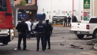 Choque en Coyoacán deja un muerto y tres heridos