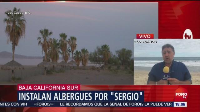 Activan alerta por la llegada de la tormenta Sergio