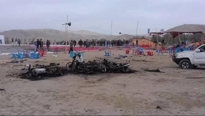 Atentado en mitin de campaña en Afganistán deja 14 muertos
